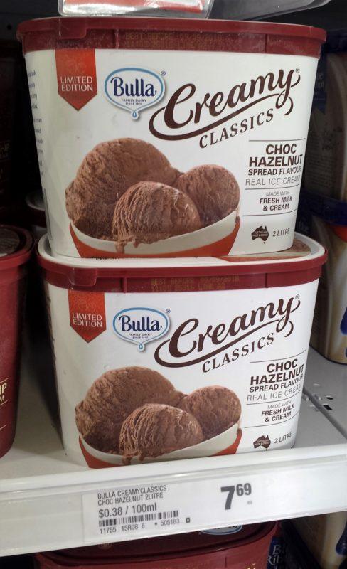 Bulla 2l Creamy Classics Choc Hazelnut Spread Flavour