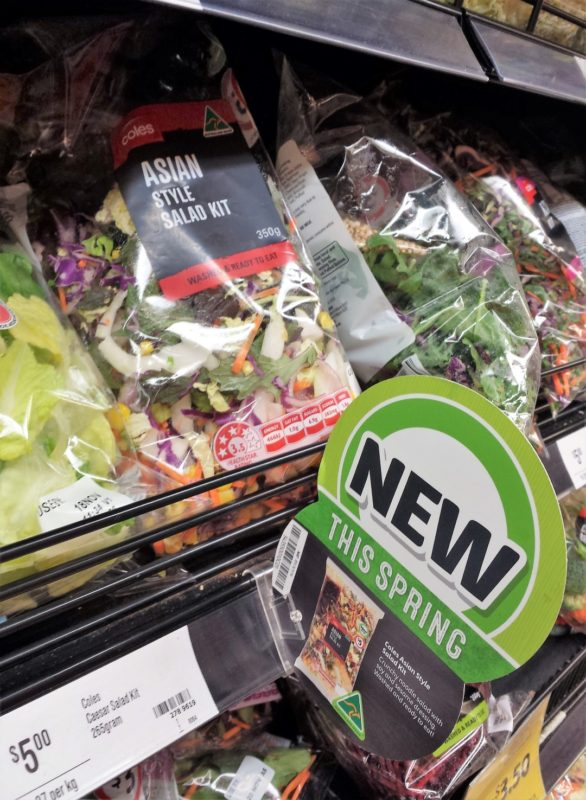 Coles 350g Asian Style Salad Kit