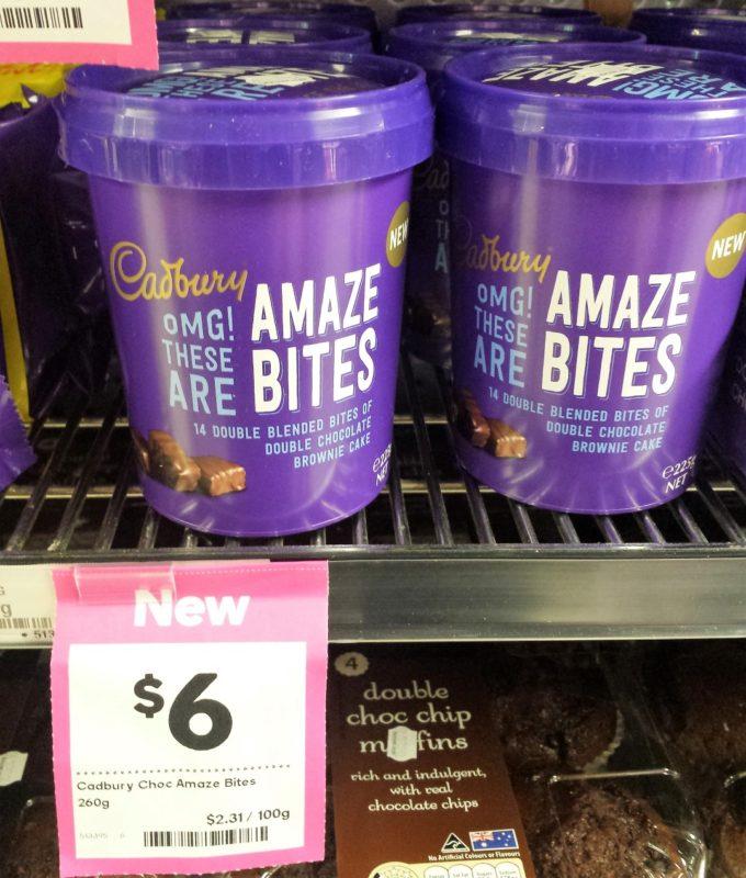 Cadbury 260g OMG! These Are Amaze Bites