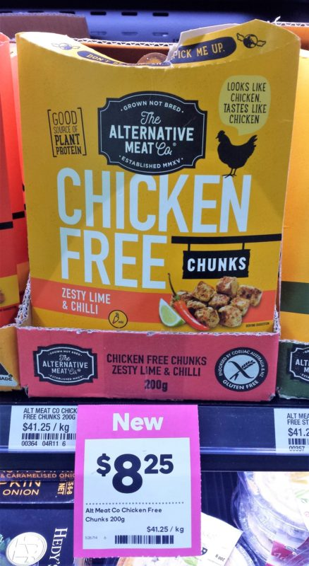 The Alternative Meat Co 200g Chicken Free Chunks Zesty Lime & Chilli