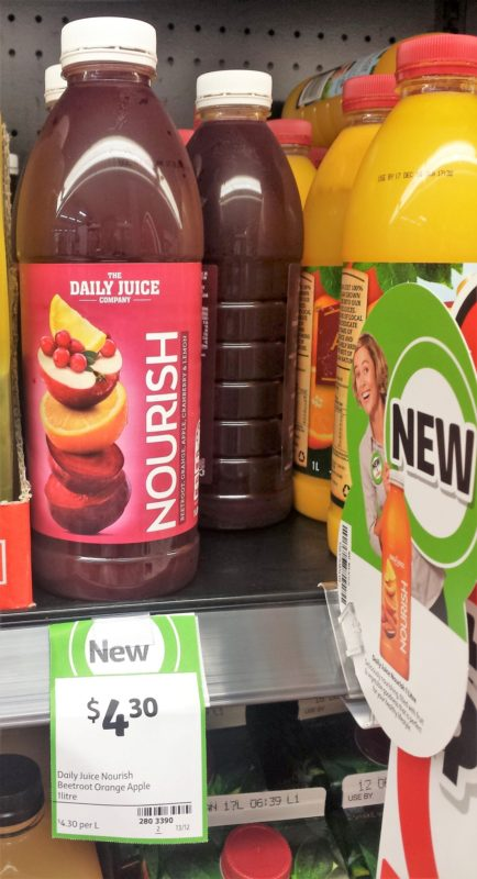 The Daily Juice Company 1L Nourish Beetroot Orange Apple