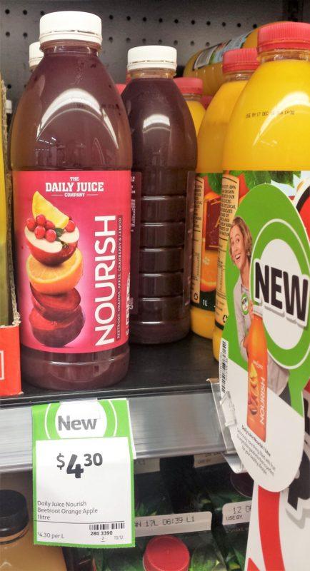 The Daily Juice Company 1L Nourish Beetroot Orange Apple