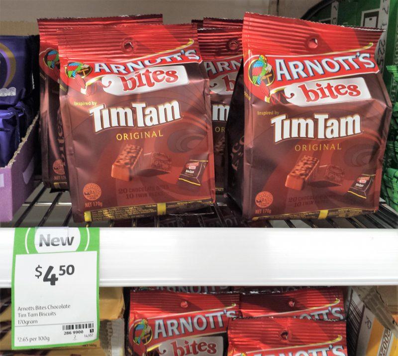 Arnott's Bites 170g Tim Tam Original