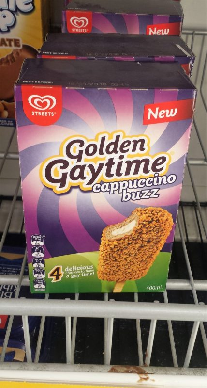Streets Golden Gaytime 400mL Cappuccino Buzz