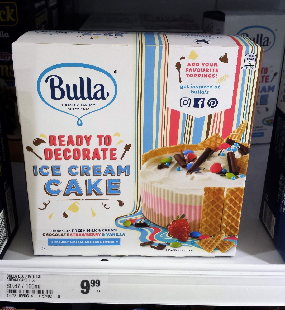 Ice Cream Cake Woolworths