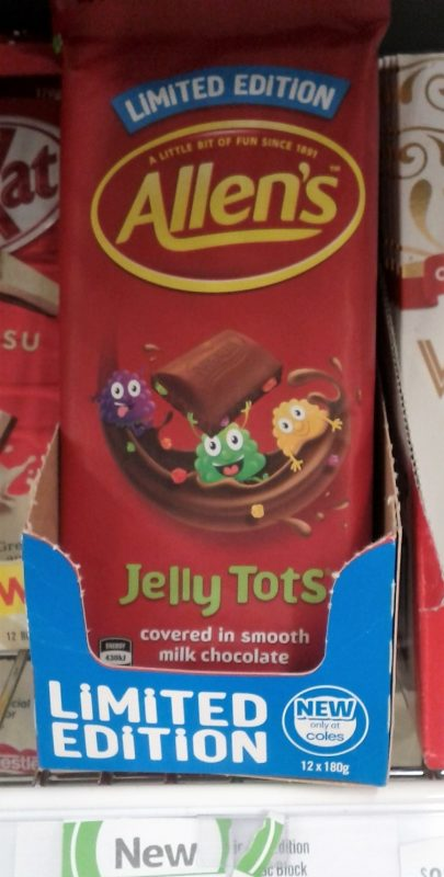 Nestle Allen's 180g Jelly Tots Limited Edition