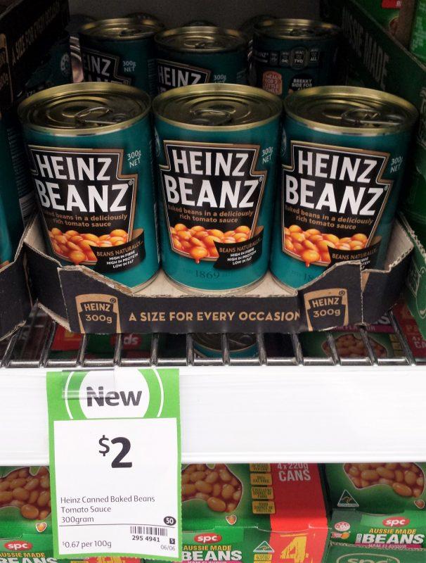 Heinz Beanz 300g Baked Beans Tomato Sauce