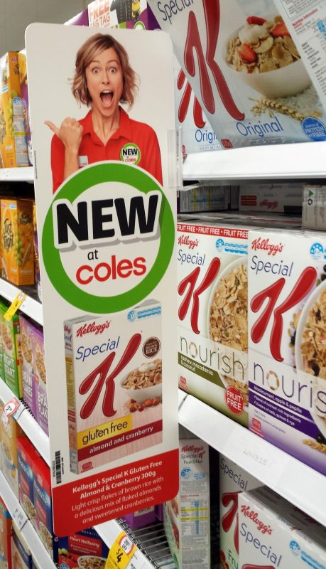 Kellogg's 300g Special K Gluten Free Almond And Cranberry