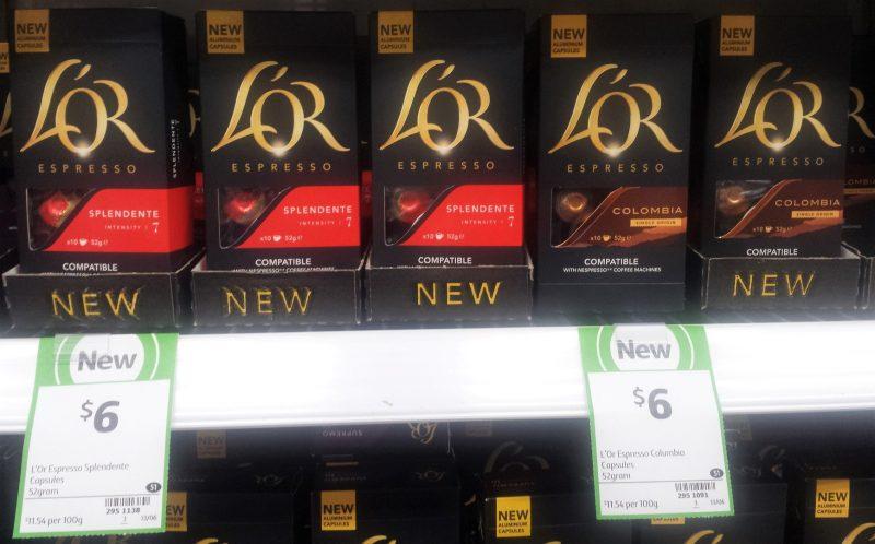 L'Or Espresso 52g Coffee Capsules Splendente, Colombia