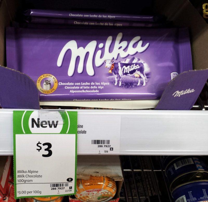 Milka 100g Milk Chocolate