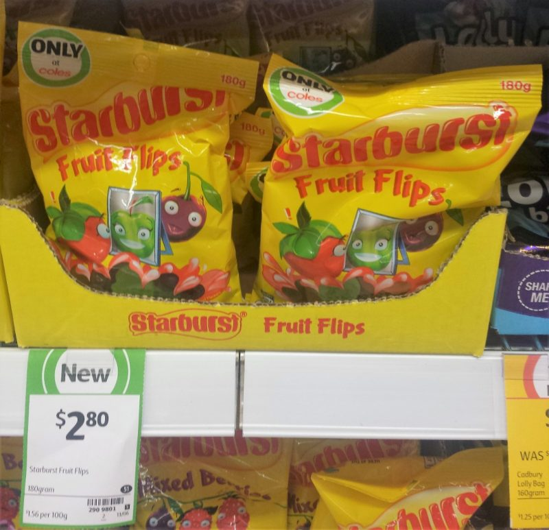 Starburst 180g Fruit Flips