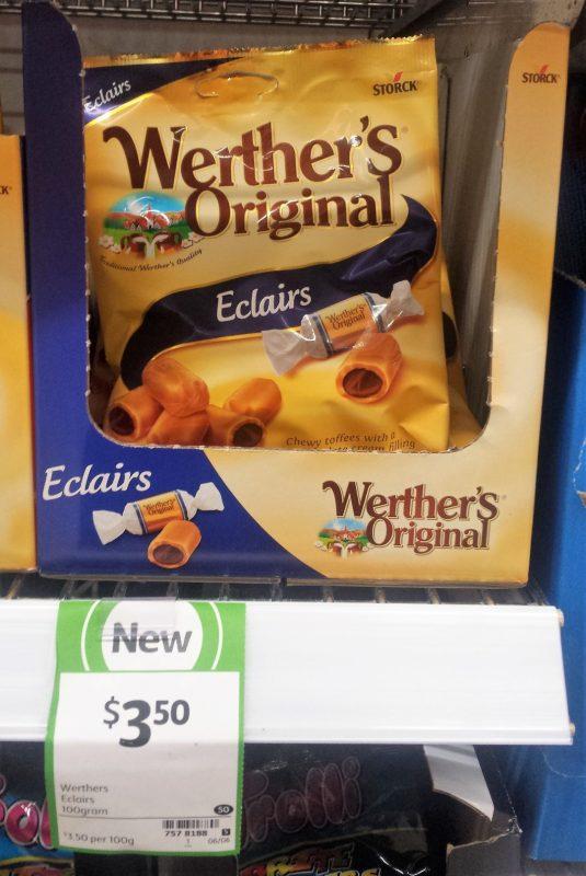 Werther's Original 100g Eclairs
