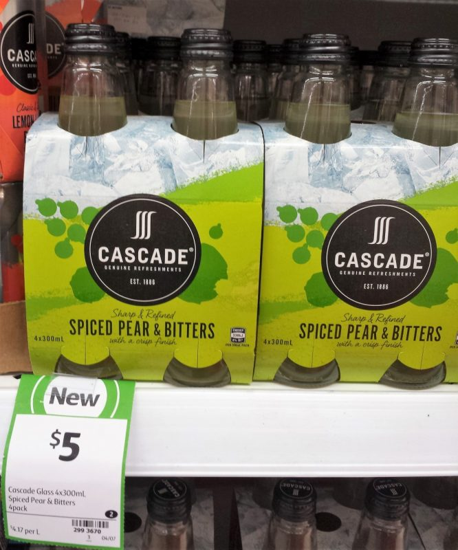 Cascade 4 X 300mL Spiced Pear & Bitters