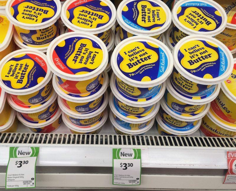 I Can't Believe It's Not Butter 500g Original, Salt Reduced