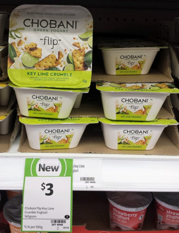 Chobani 140g Flip Key Lime Crumble