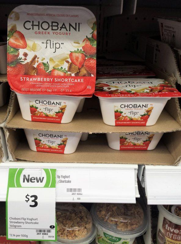 Chobani 140g Flip Stawberry Shortcake