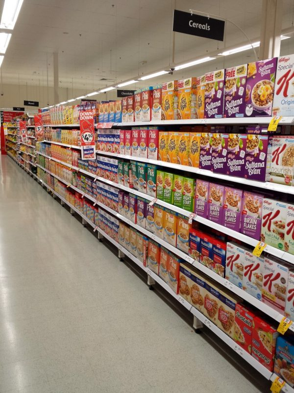 Coles Cereal Aug 17