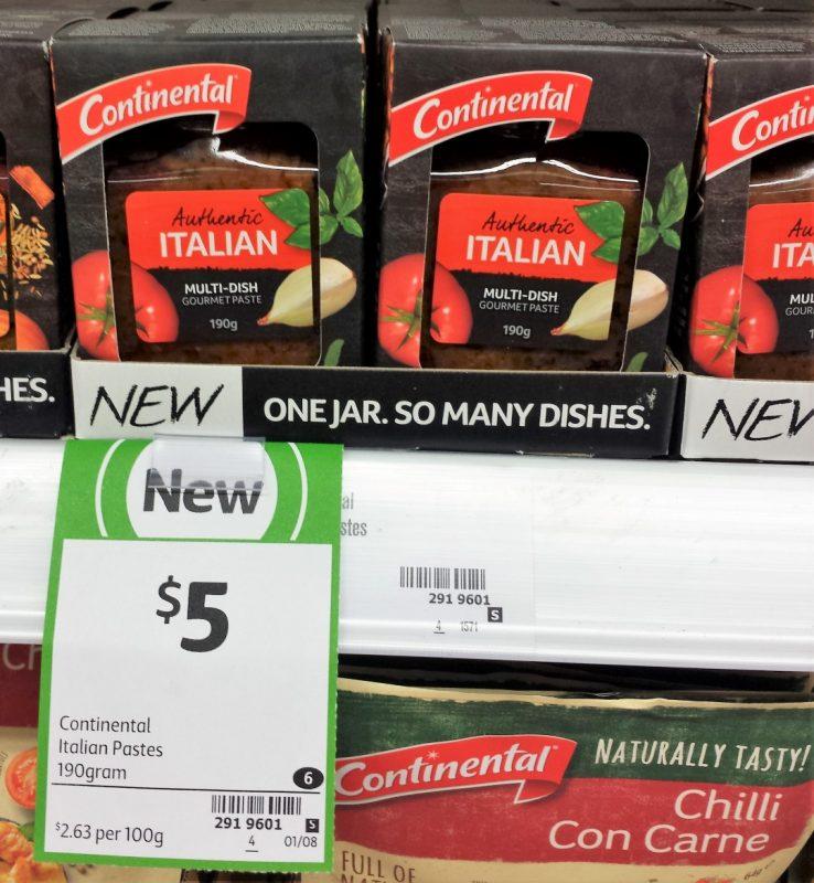 Continental 190g Italian Paste