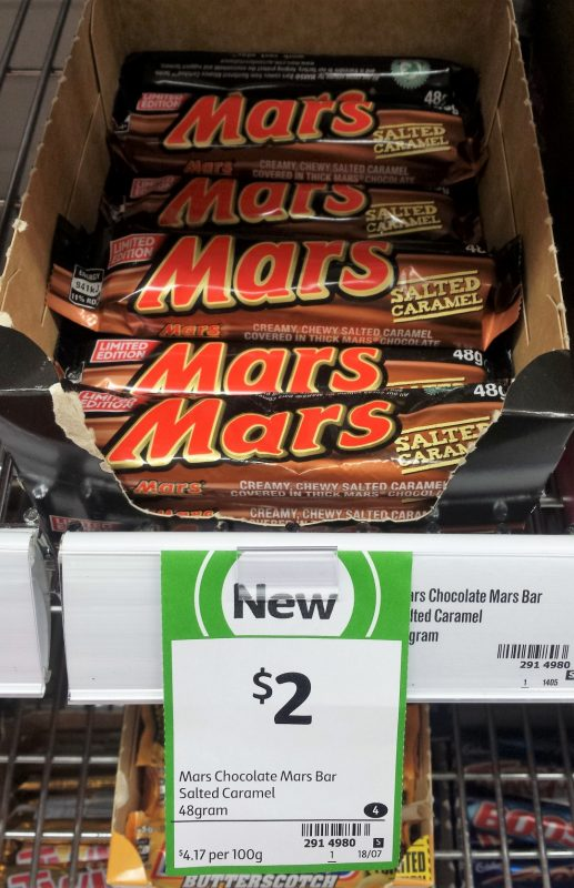Mars 48g Salted Caramel Limited Edition