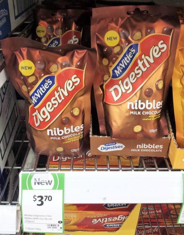 McVities 120g Digestives Nibbles Milk Chocolate
