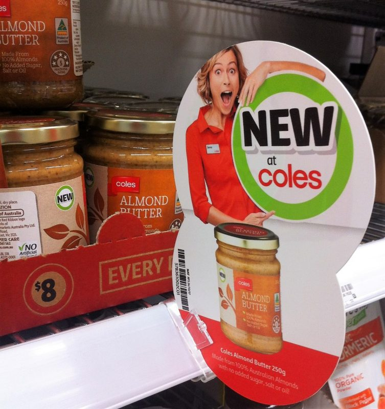 Coles 250g Almond Butter Spread New Girl Jenny
