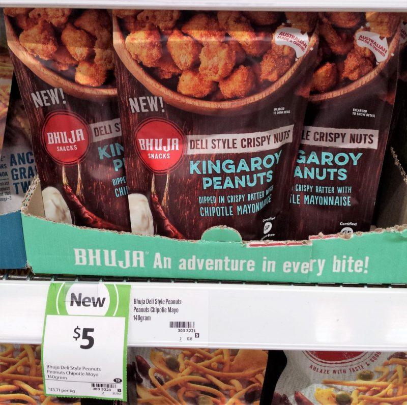 Bhuja Snacks 140g Deli Style Crispy Nuts Kingaroy Peanuts