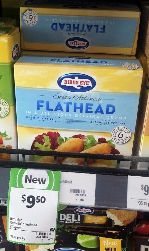 Birds Eye 270g Flathead