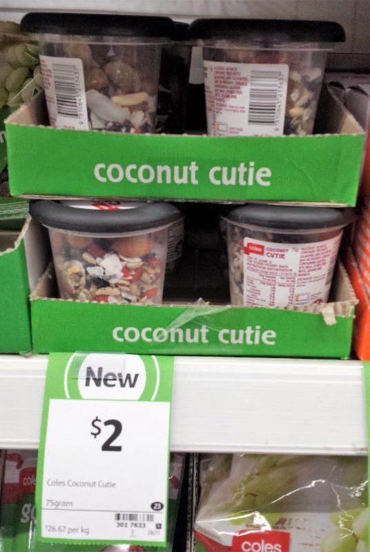 Coles 75g Coconut Cutie