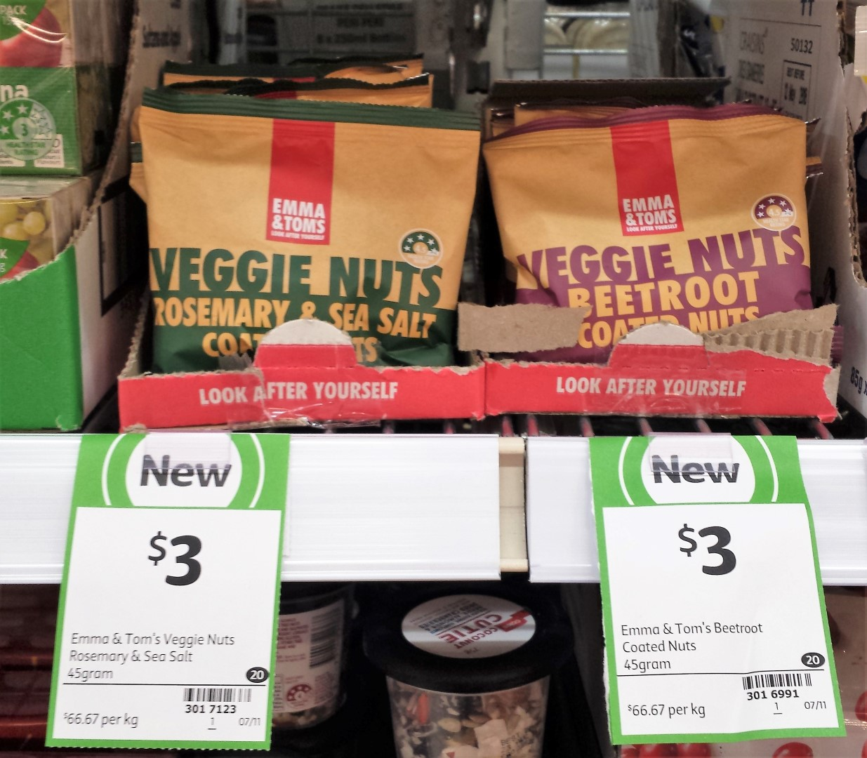 New On The Shelf At Coles 21st November 2017 New