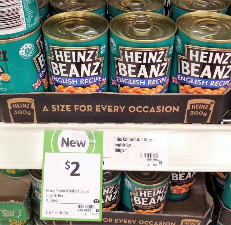 Heinz Beanz 300g English Recipe