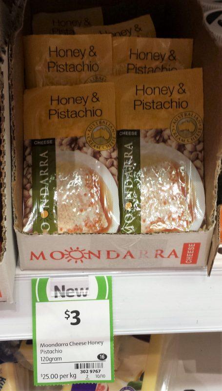 Moondarra Cheese Honey & Pistachio