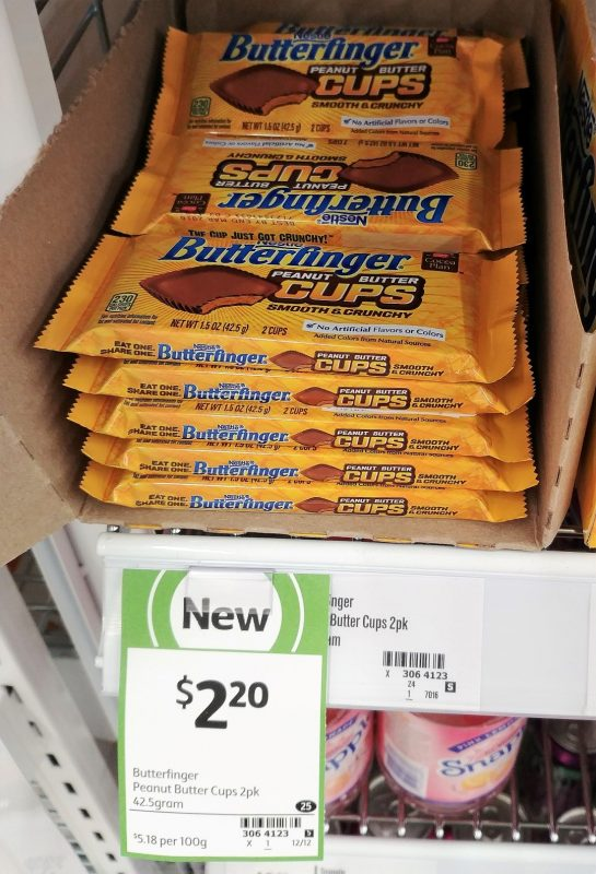 Nestle 42.5g Butterfinger Peanut Butter Cups
