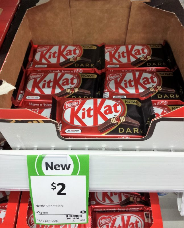 Nestle 45g Kit Kat Dark