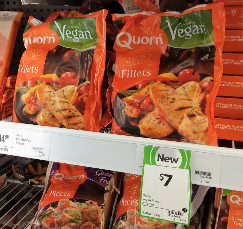 Quorn 252g Vegan Fillets