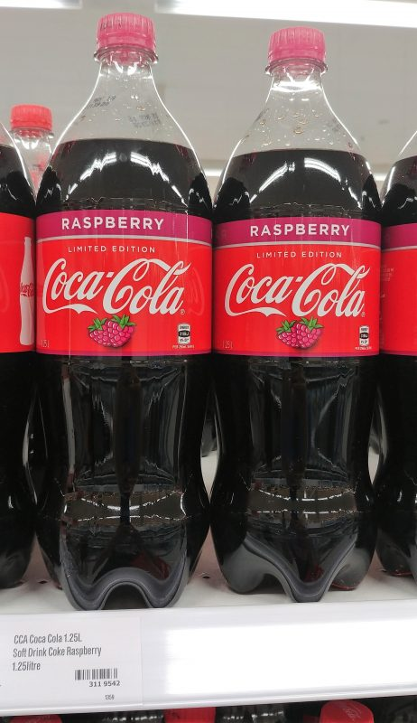 Coca Cola 1.25L Raspberry Limited Edition