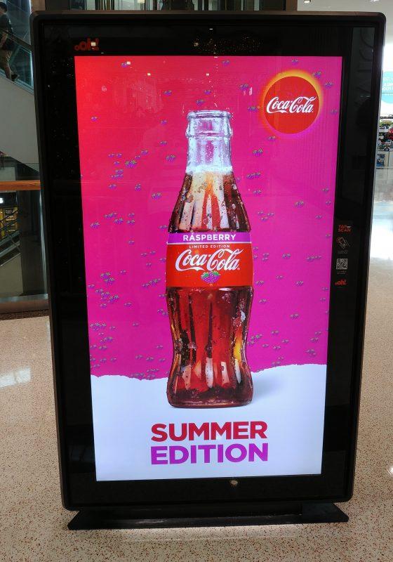 Coca Cola Raspberry Summer Edition OOH