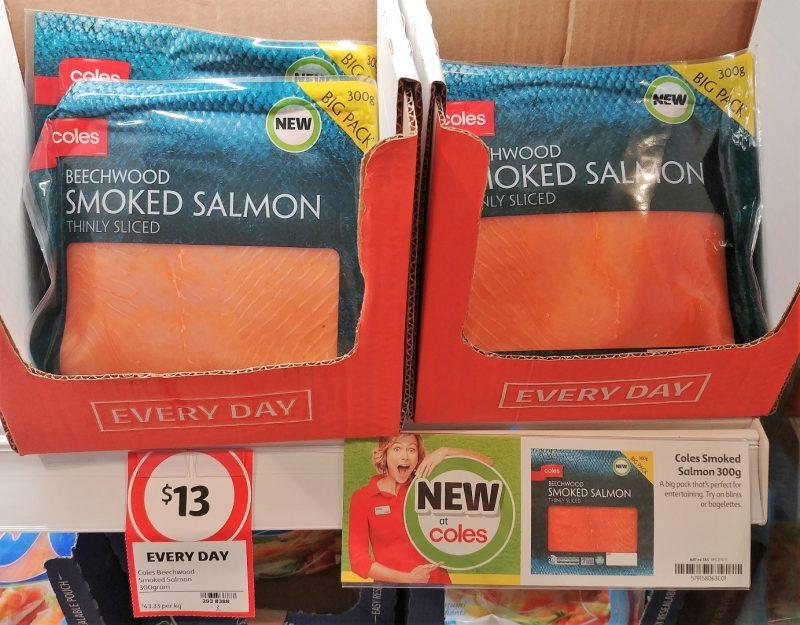 Coles 300g Beechwood Smoked Salmon