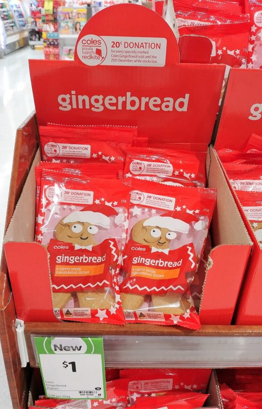 Coles 35g Gingerbread