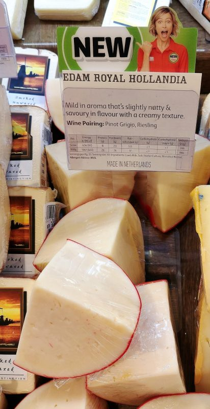 Coles Cheese Edam Royal Hollandia