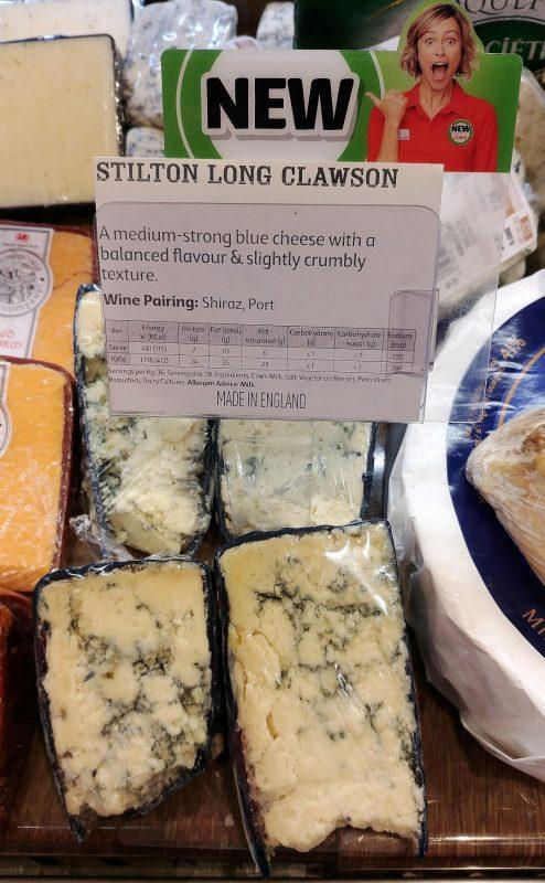 Coles Cheese Stilton Long Clawson