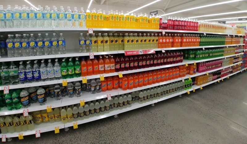 Coles Shelf Soft Drinks 2
