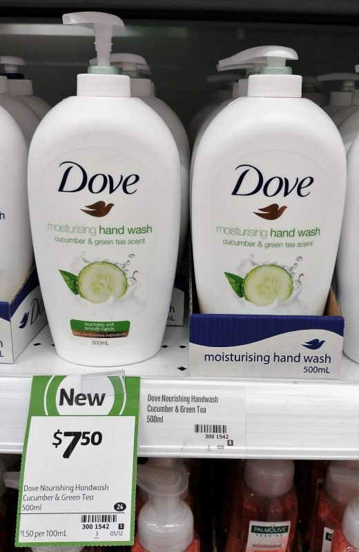 Dove 500mL Hand Wash Cucumber & Green Tea Scent
