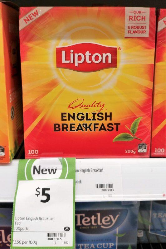 Lipton 200g English Breakfast