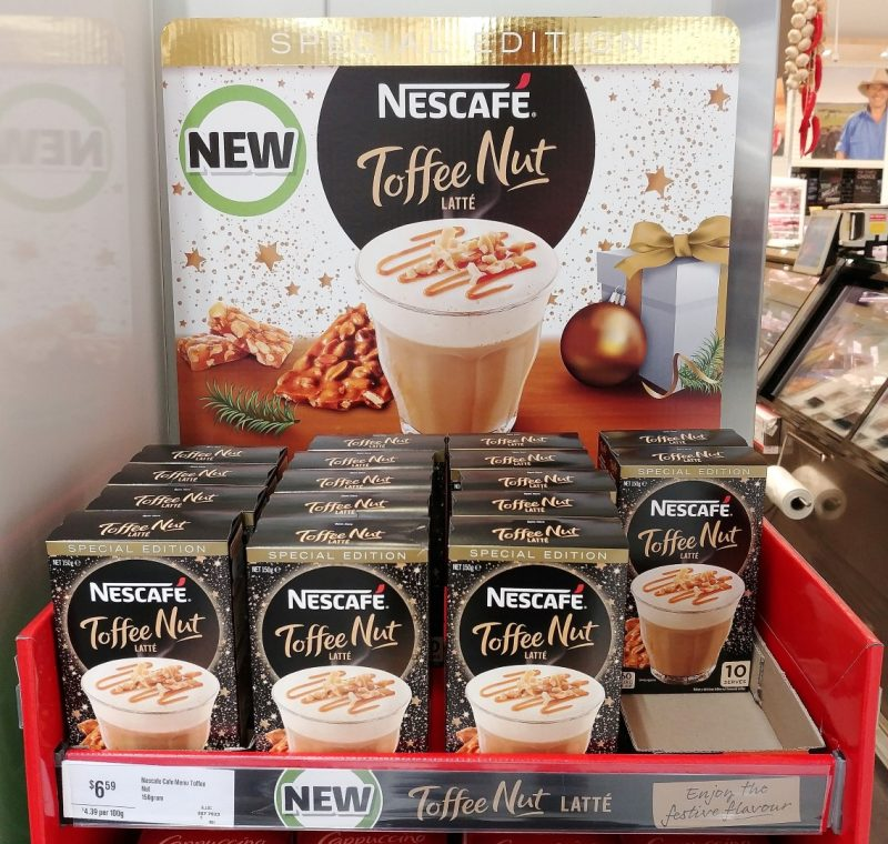 Nescafe 150g Latte Toffee Nut Special Edition