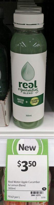 Real 300mL Water Apple + Cucumber Lemon