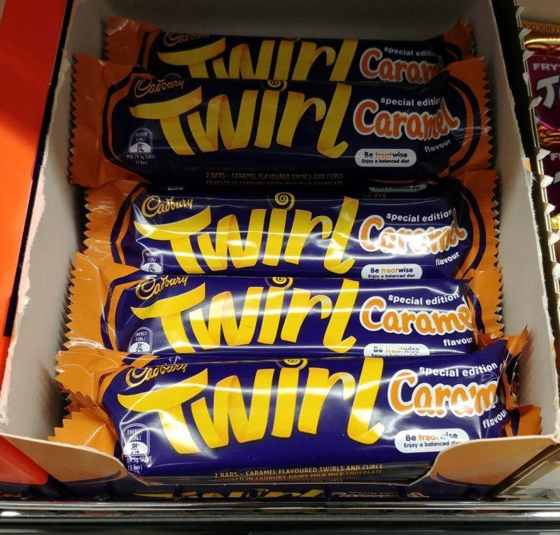 Cadbury 39g Twirl Caramel Flavour Special Edition
