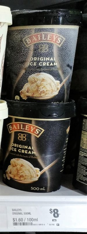 Baileys 500mL Ice Cream Original