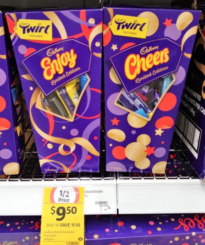 Cadbury 540g Chocolates Boxed Favourites
