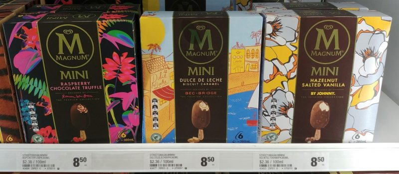 Magnum 360mL Mini Ice Creams The Fashion Collection