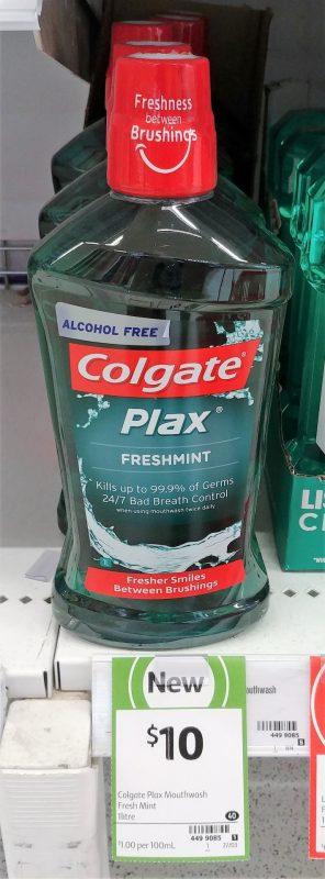 Colgate 1L Mouthwash Plax Freshmint